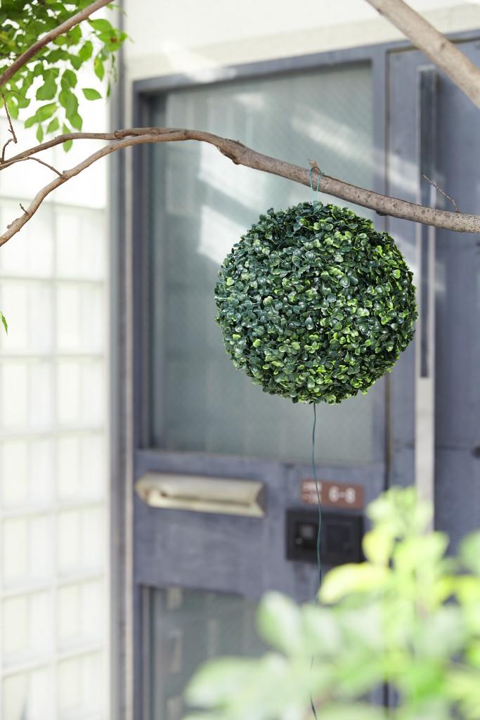 SOLAR GREEN BALL昼
